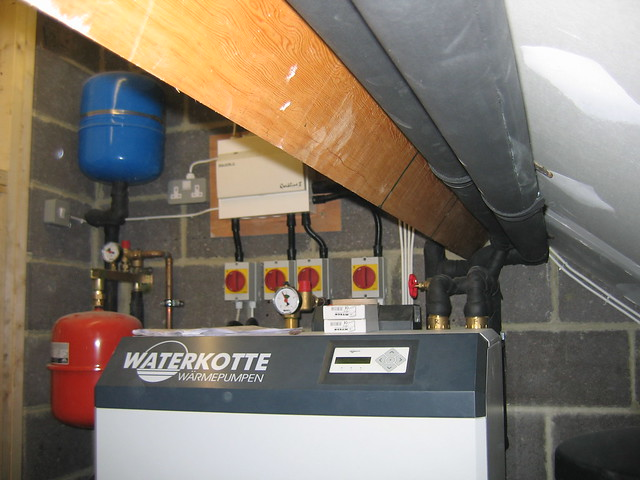 Waterkotte heat pump