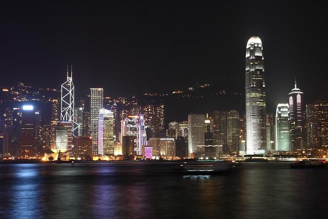 Hong Kong night scenery | Flickr - Photo Sharing!