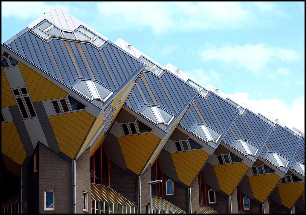 2 paisajes simetricos fototeka for Arquitectura holandesa