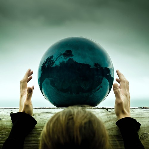 Crystal Ball / Hands / Person