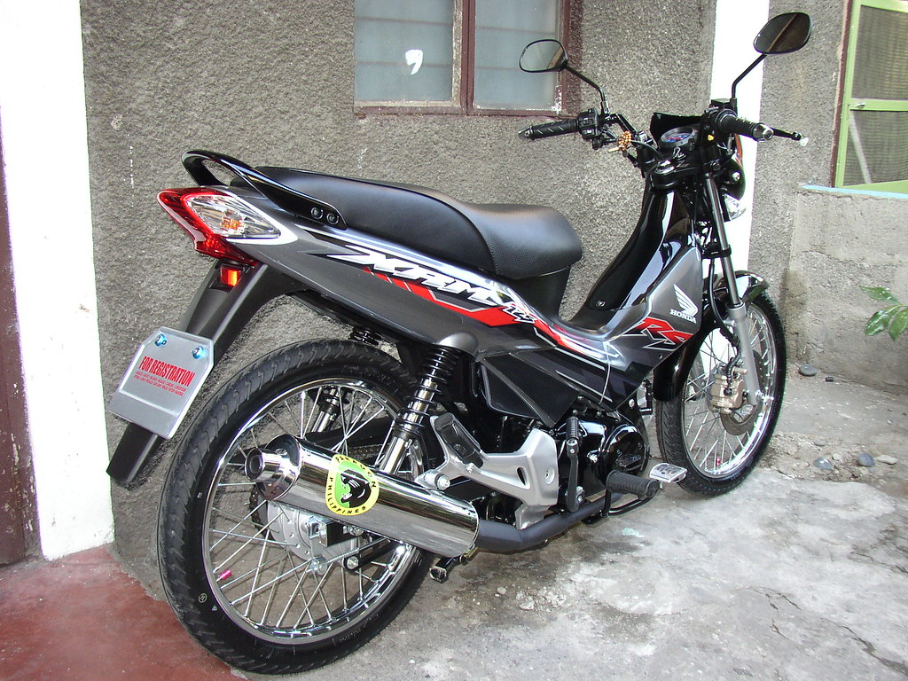 Honda xrm rs 125 37 share ko lang din sakin tridents motorcycle decals