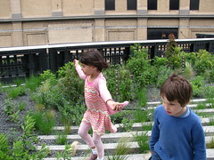 Eden and Finnegan on the High Line by edenpictures, on Flickr