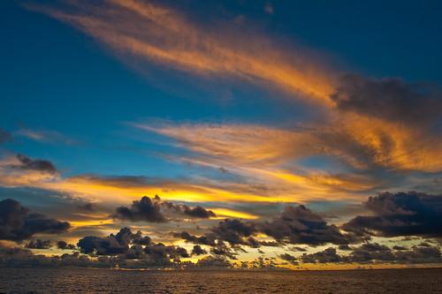 blue light sea sky night nikon colorful raw pacific nikkor fx palau 2470mm iluminated d700 2470mmf28g
