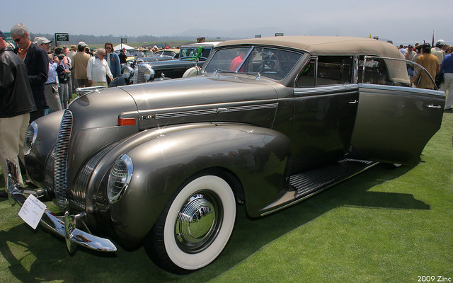 1938 Lincoln K V-12 LeBaron Convertible Sedan - fvl