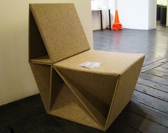 Caterpillar Chair made from ...