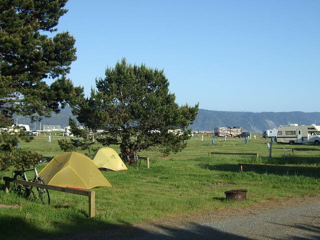 Camping In Crescent City Rv Park Flickr Photo Sharing