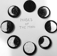 Oreo-Phases of the Moon