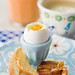 "Soft Boiled Eggs with Toast ""Soldiers"" and Pancetta Chips 2"