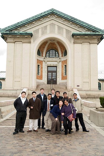 ECE Students in front of Hamerschlag Hall