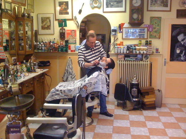 Barber And Shave Shoppe : At the Barber Shop (Shaving Experience with Straight Razor) Flickr ...