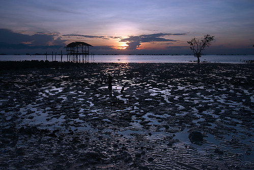 sea seascape tree clouds sunrise canon reflections philippines hut mangrove lowtide 1022mm uwa delicatebalance davaodelnorte sphinxsaldana panabocity