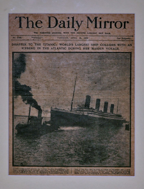 Titanic report, The Daily Mirror, 16 April 1912 | Flickr ...