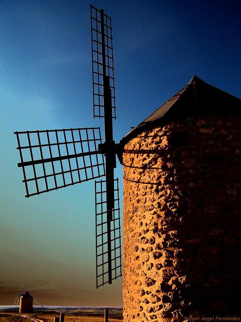 Aventura de los molinos de viento (para Arrano)