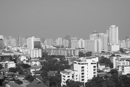 Apartments in bangkok, view of bangkok from ekamai apt