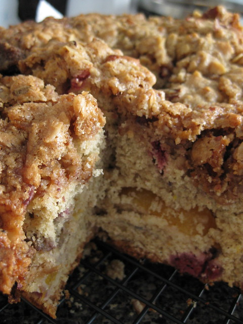 Blueberry Crumble or Raspberry Peach Crumble | Flickr - Photo Sharing!