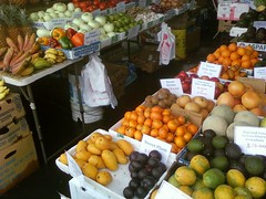 Local veggies and fruits