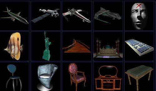 15 Free Objects 3d Models