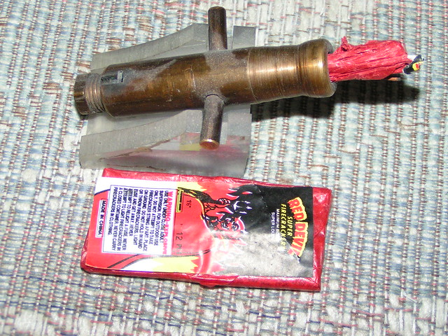 Toy Brass Firecracker Cannon Home Made Flickr Photo