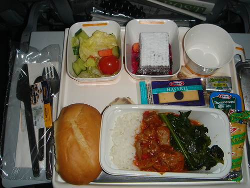 Lufthansa Economy Class Dinner - a photo on Flickriver