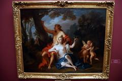 2009-06-11 06-14 Dresden 216 Gemäldegalerie Alte Meister, Louis de Silvestre - Angelika und Medor