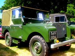 """Land Rover 80"""". 1949."""
