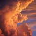 "Dramatic Clouds Close-up, Sunset by IronRodArt - Royce Bair (""Star Shooter"")"
