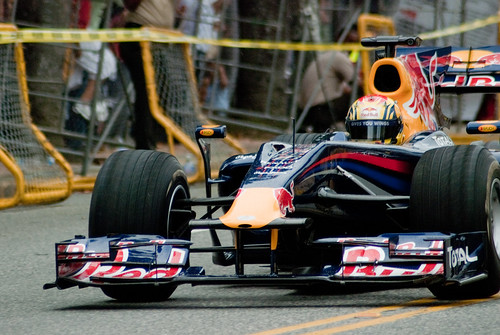 Giving you wings: F1 cars could be among the first to use synthetic petrol