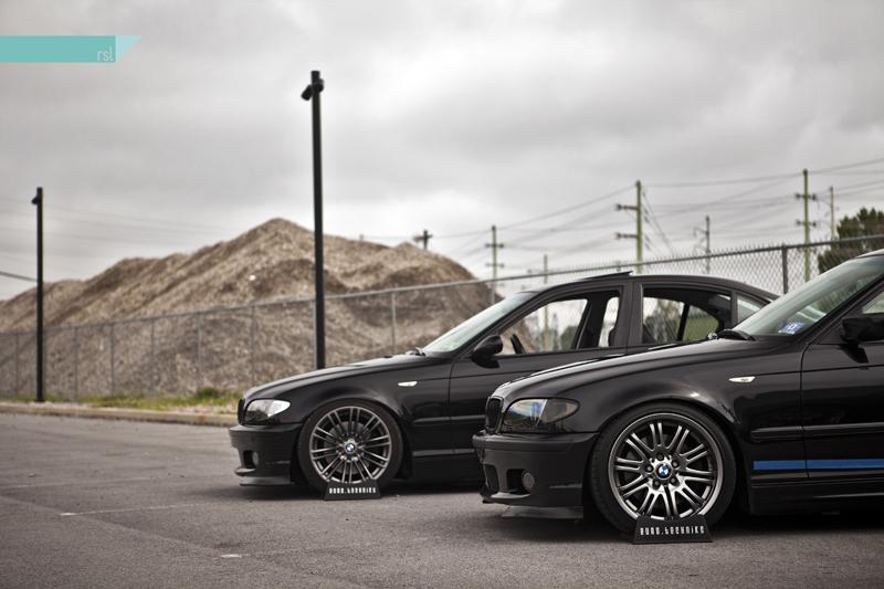 BMW E46 twins