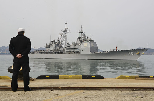 SEOUL, Republic of Korea - U.S. Navy ships arrived in ports across the Republic of Korea (ROK) in preparation for the upcoming Foal Eagle exercises with the ROK navy.