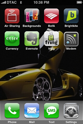 My Finally-Jailbroken iPhone