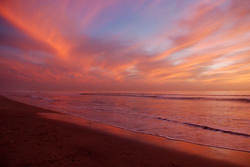 ca pink sunset art beach clouds nikon oceanside oceanview d80 prgibbs