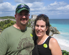 Jenn & Mark in Tulum