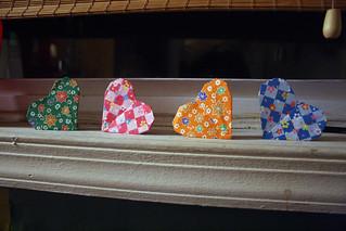 Origami Hearts...