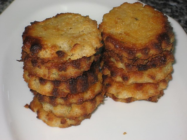 GALLETAS DE LIMON Y ROMERO