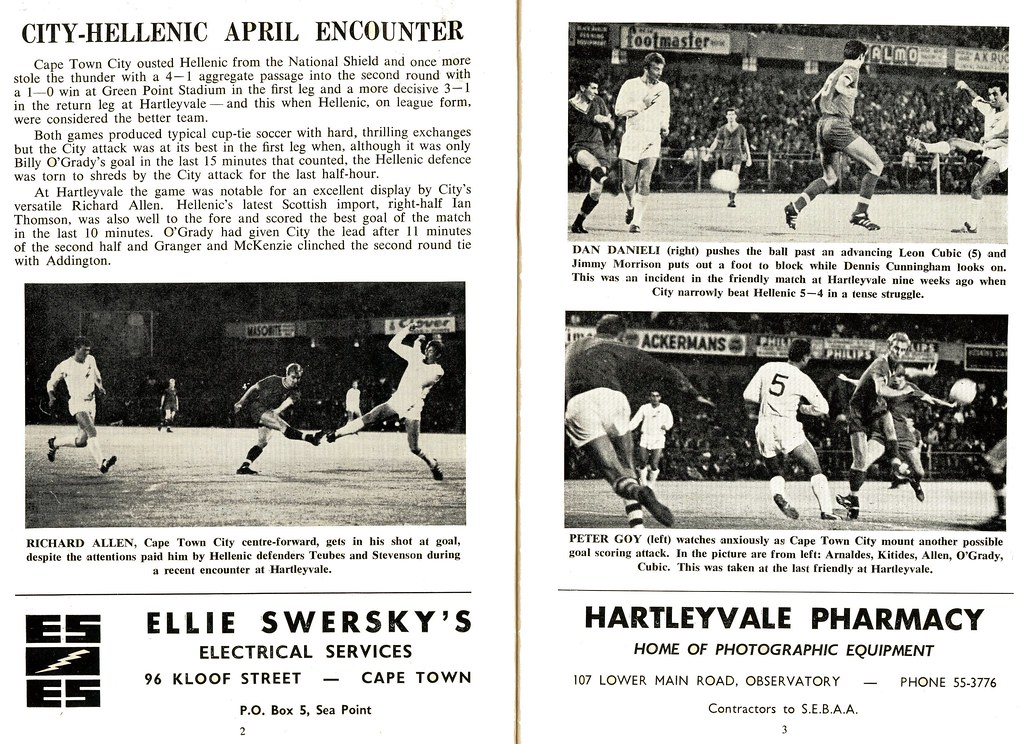 Cape Soccer News - May 1968 Page 02/03 | HiltonT | Flickr