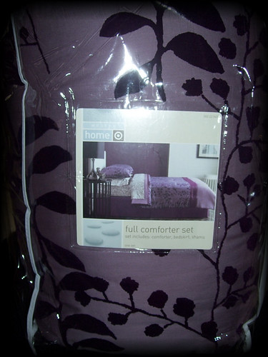 Twilight Bella's Purple Comforter