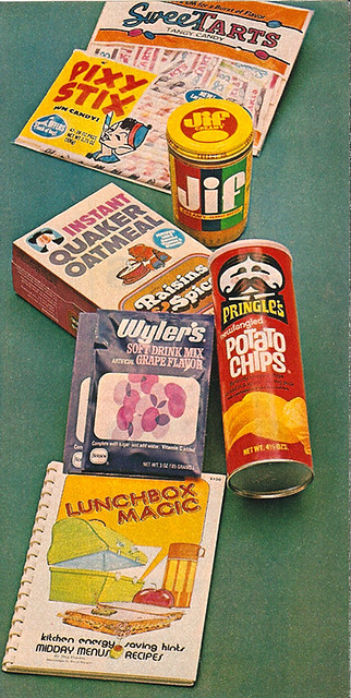 Vintage 1970's Snack Food / Candy