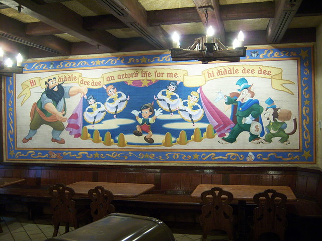 Mural in village haus flickr photo sharing for Disneyland mural