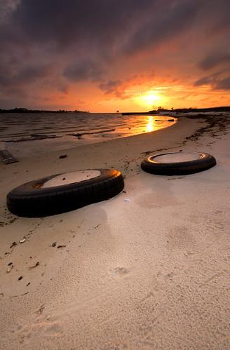 sunset sky beach landscape nikon shoreline sigma northcarolina wideangle filter d200 1020mm beaufort graduated sandypoint neutraldensity 3stop merrimon