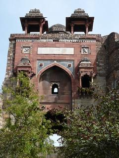 Image of Humayun Darwaza (Gate). delhi humayun mughal puranaqila shershahsuri puranaqilagates puranaqilawalls