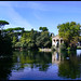 Small photo of Aesculapius Temple & Lake