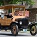 Wooden Vintage Ford
