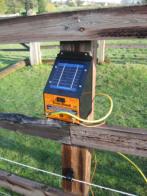 Solar Electric Fence Flickr Photo Sharing