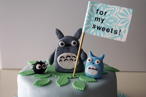 my neighbor totoro cake!