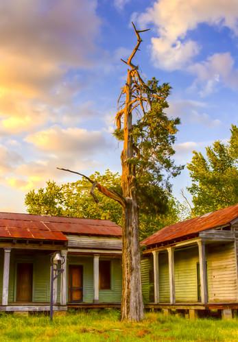 school sunset history hospital louisiana decay south abandon reclaimation historicdowntown keatchie keatchi