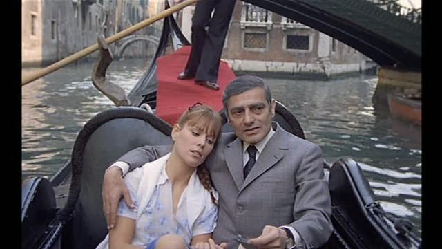Marthe Keller + Charles Denner