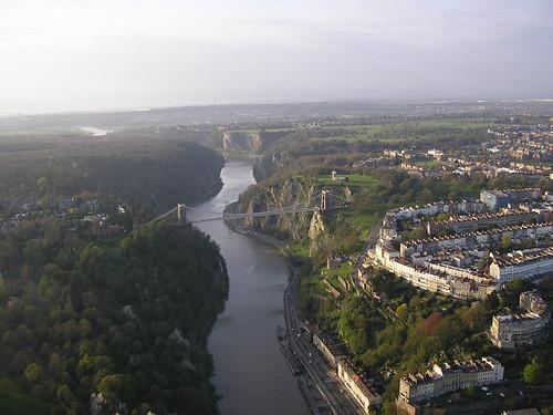 Clifton Suspension Bridge and Avon Gorge