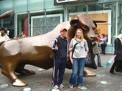 By the Bull in Birmingham