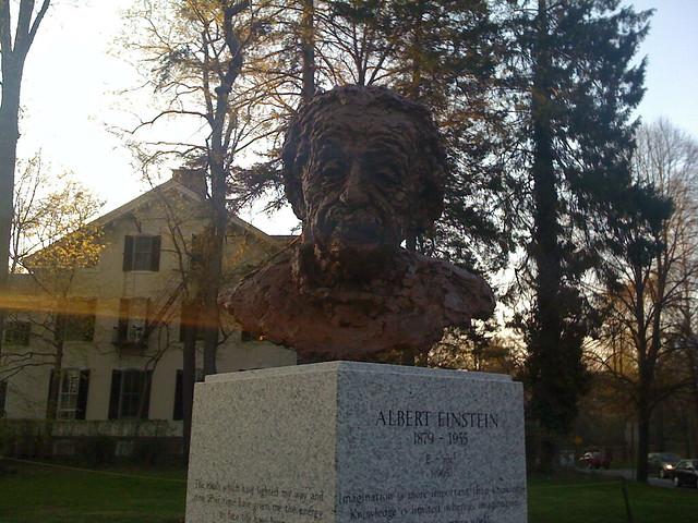 Albert Einstein Sculpture Princeton Flickr Photo Sharing