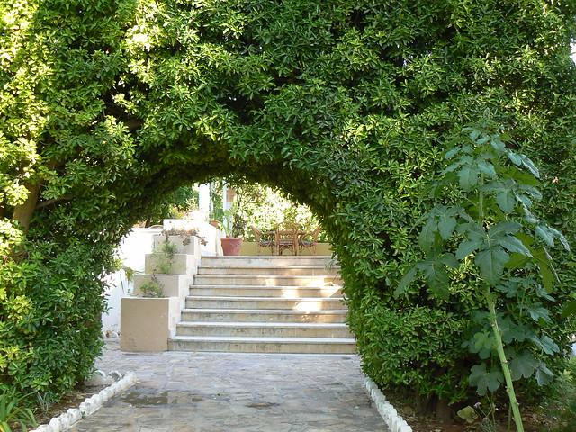 Algérie, Bou Saada, jardin de l'hôtel Transat  Flickr ...